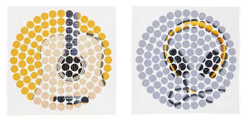 Mikel Guitar & Headphones Wall Art Set