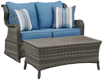 Masie 4Pc Outdoor Patio Sofa Set