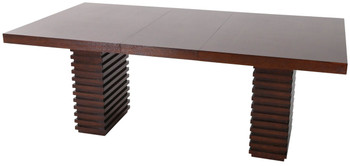 Lenny Dark Brown 6-PC Dining Set