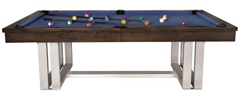 Contemp 8-FT Charcoal Pool Table
