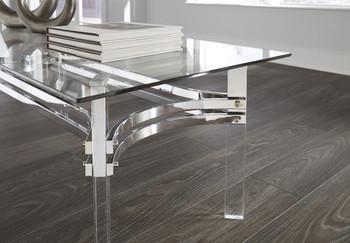 """Lancier 48"""" Wide Coffee Table"""