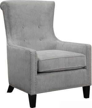 Forenza Gray Accent Chair
