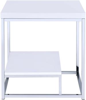Modani White End Table