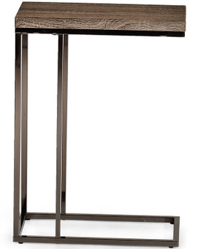 Modani Taupe Chairside End Table