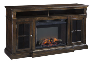 "Roddinton 72"" TV Stand and Fireplace"