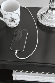 Karizma Nightstand with USB's