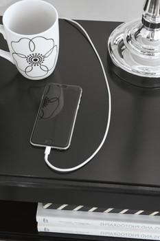 KARIZMA Nightstand with USB's
