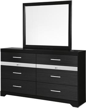 """Karizma 63"""" Wide Dresser & Mirror"""
