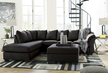 Edeline Black Sectional