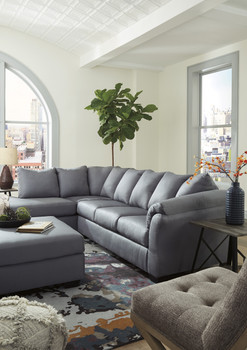 Edeline Slate Gray Sectional