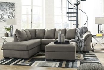 Edeline Stone Gray Sectional