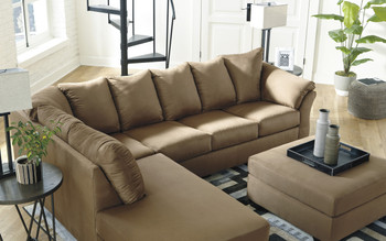 Edeline Mocha Sectional
