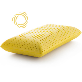 Zoned ActiveDough Chamomile Pillow with Aromatherapy Spray, Mid Loft
