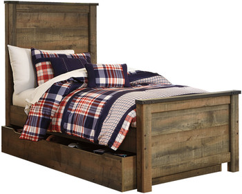 Trinell Trundle/Storage Bed