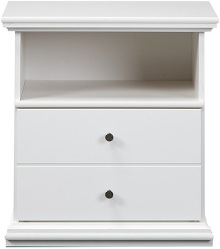 Lucia White Night Stand