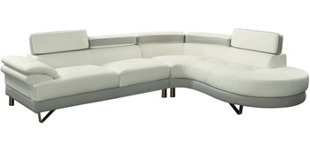 Cady Two-Tone Sectional