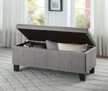 Thelma Gray Storage Bench