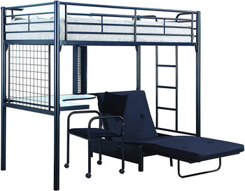 Braxter Twin Workstation Loft Bed