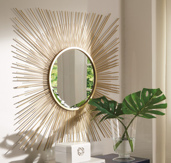 "Hermie 42"" Wall Mirror"