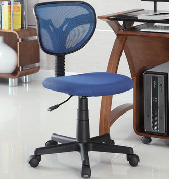 Remzi Blue Mesh Office Chair