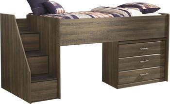 Juararo Loft Bed with Drawers
