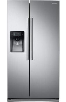VESTA Stainless Steel 24.5 cu. ft. Side by Side Refrigerator