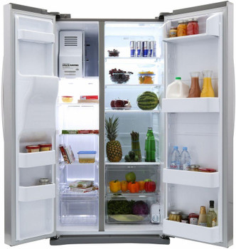 24.5 cu. ft. Side by Side Stainless Steel Refrigerator