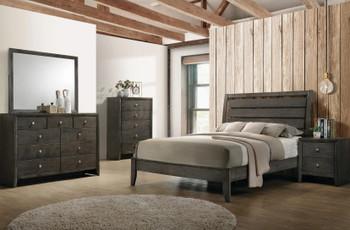 LIVINGTON Gray Bedroom Set