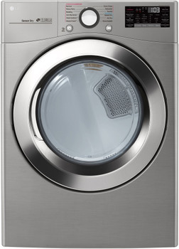 LG Graphite 7.4 cu. ft. Ultra Large Capacity Smart wi-fi Enabled SteamDryer