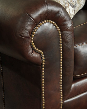 """Almeira 74"""" Wide Leather Loveseat"""