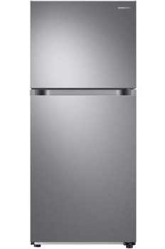 COMET T21 Stainless Steel 17.6 cu. ft. Top Freezer Refrigerator with FlexZone, Energy Star, Ice Maker