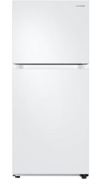 COMET T20 White 17.6 cu. ft. Top Freezer Refrigerator with FlexZone, Energy Star, Ice Maker