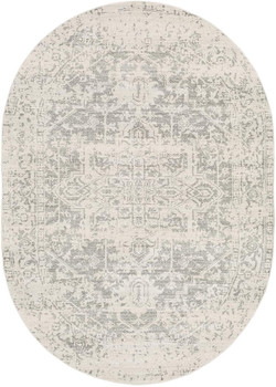 "Naitee Light 6'7"" x 9' Oval Rug"