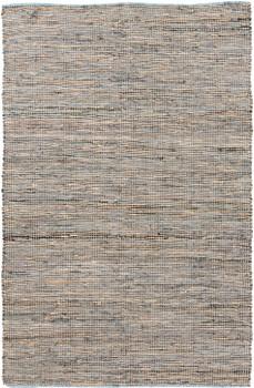 Elinia Leather & Jute 5' x 8' Rug