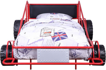 Speeder Red Twin Race Car Bed