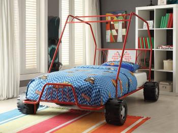 Buggy Red Twin Car Bed