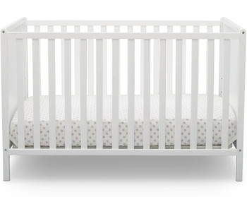 Kyle White 4-in-1 Crib