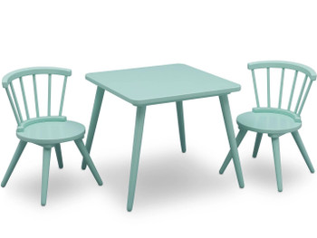 Mindi Aqua Table & Chair Set