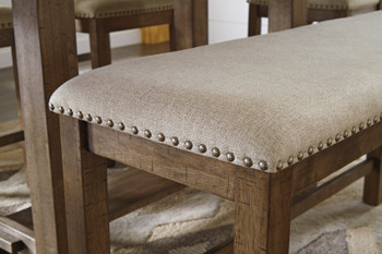 """Alpine 48"""" Wide Counter Height Bench"""