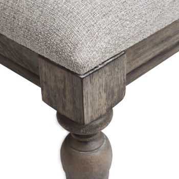 "Newhaven Driftwood 20"" Wide Stool"