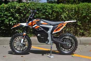 DB-10 Orange Kids Electric Bike