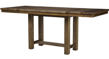 "Alpine 86"" Wide Counter Height Table with Extensions"