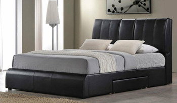 Reddick Storage Platform Bed