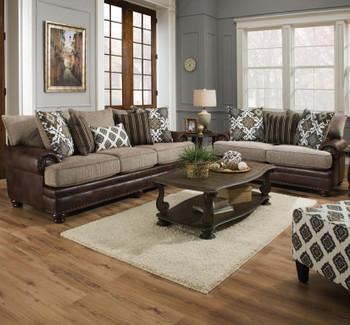 CLARKSVILLE Bronze Livingroom Set