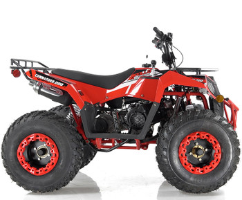 Commander 200CC Red ATV