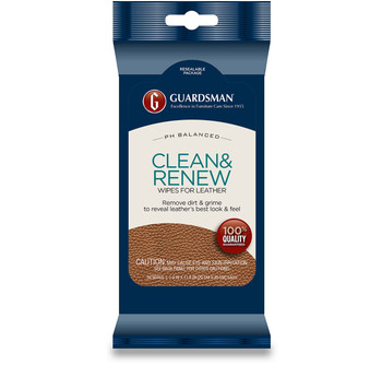 Clean & Renew Leather Wipes