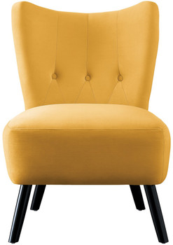 Wilma Yellow Accent Chair