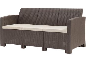 """Jerdico Brown 68"""" Wide Sofa"""