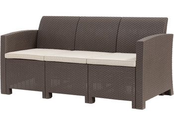 Jerdico Brown 4 Piece Sofa Patio Set