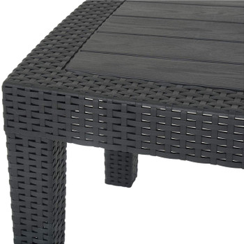 "Jerdico Gray 28"" Wide Coffee Table"